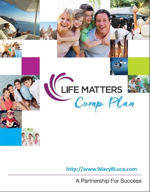 Life Shotz Life Matters Compensation Plan